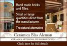 Blas Aleman hand made ceramic tiles Valentin Murcia