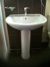 washbasin on leg