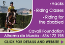 Cavalli Foundation offers hacks riding lessons for all levels stopovers and riding for the disabled