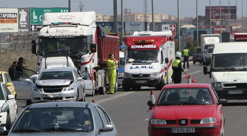 Road accident in Alicante : Two people die and two others are injured, including a minor, in an accident in Pinoso