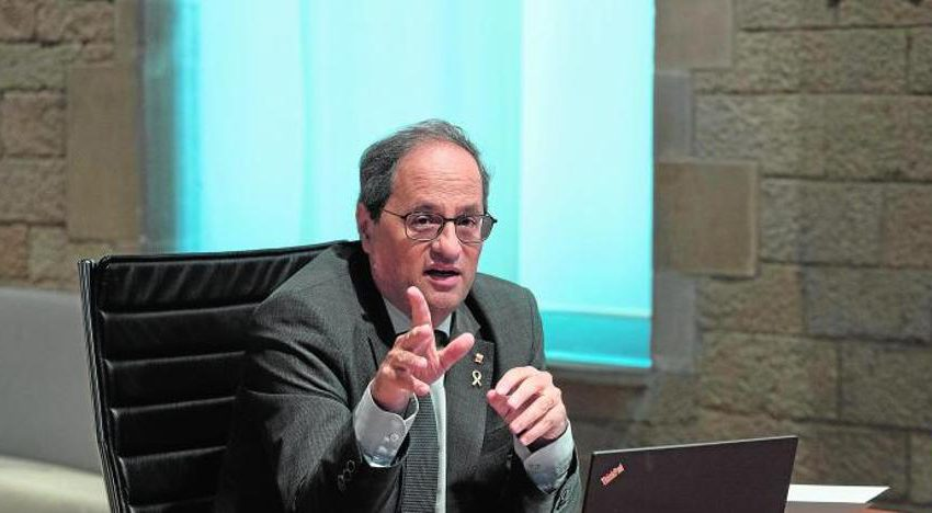The Generalitat confines the 200,000 inhabitants of the capital and region of Lleida