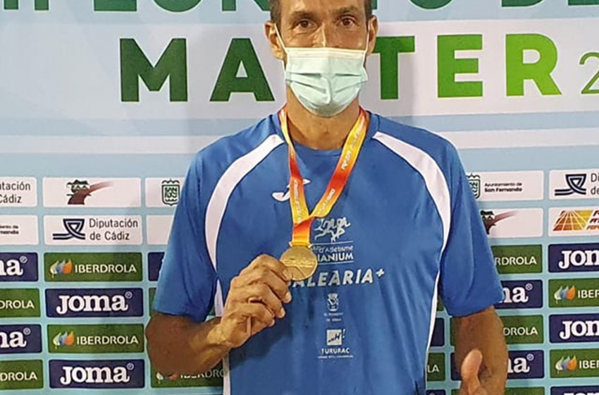 Juanra Pous, double Spanish Master in 1500 and 800m