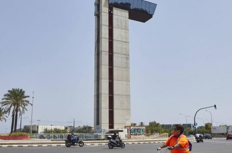 Torre Miramar avenida Cataluña Valencia | From abandoned tower to jumping and climbing circuit