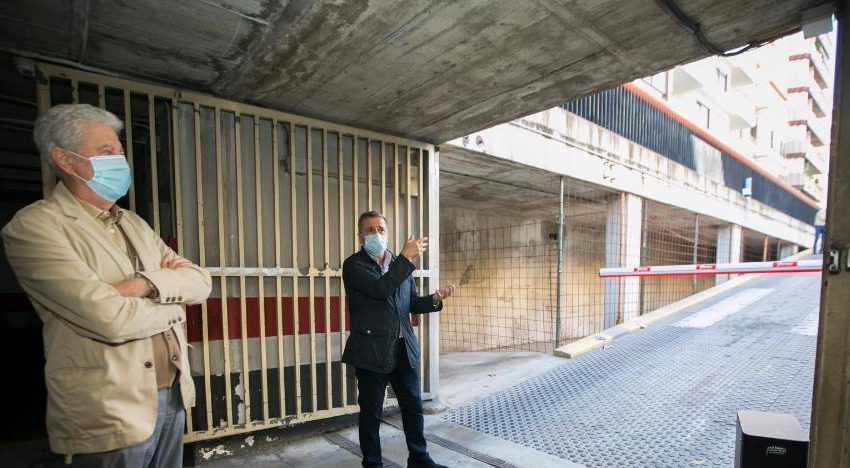 Centre Històric parking lot improved with 230,000 euros