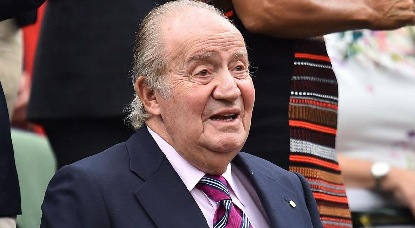 """Don Juan Carlos: """"I'm very well, I do two hours of gymnastics a day""""."""