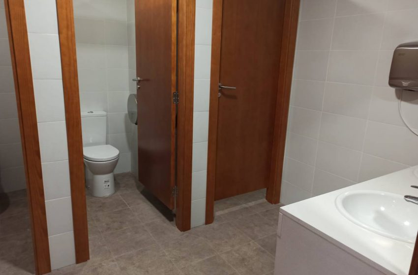 Oliva renovates the bathrooms of the Pensioners' and Retirees' Home